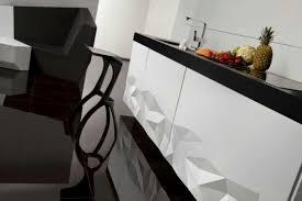 Black And White Kitchen Chairs - kitchen sleek and chic modern kitchens that make their own cuts