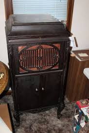 Antique Record Player Cabinet Vintage Brunswick Record Player Cabinet W Records Black Friday