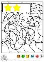 besten 25 coloriage magique addition ideen auf pinterest