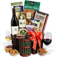 gift baskets with wine premier selections wine gift basket by gourmetgiftbaskets
