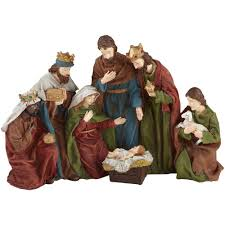 Home Interiors Nativity by Home Accents Holiday 18 In Nativity Scene B9140855 The Home Depot