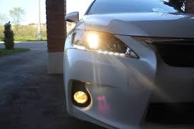 lexus ct200h ultra white installed philips h11 crystalvision ultra headlights page 4