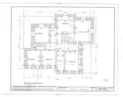 100 floor plan survey second and third floor plans