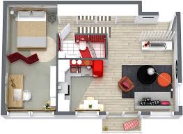 Floor Plans RoomSketcher - One bedroom house designs