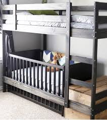 Cot Bunk Beds 14 Ikea Hacks For Babies Nursery Add A Crib Cot Underneath The