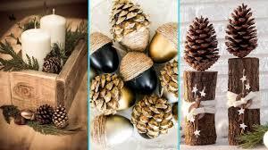 diy shabby chic style pinecone u0026 acorn decor ideas home