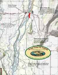 Happy Maps Fly Fishing Maps For Yellowstone Teton Park And The Surrounding Area