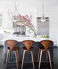 island stools kitchen navy wood and grey kitchen designed by grant k gibson at