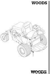 woods equipment lawn mower fz25d user guide manualsonline com