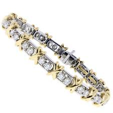 bracelet diamond tiffany images Tiffany co schlumberger 36 stone diamond bracelet jpg