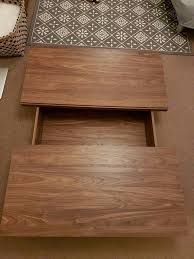 next mode walnut coffee table u2013 urgent reduced price free