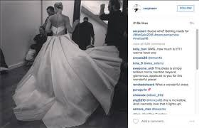zac posen light up gown her giant dress looks beautiful but when i saw it do this in the