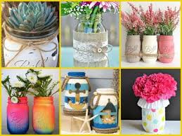 45 wonderful summer mason jar decorations ideas diy summer room