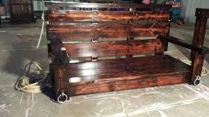 eye catching diy reclaimed pallet porch swing ideas pallets designs