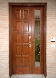 porte ingresso in legno dn modena falegname produzione porte doppia anta in legno o