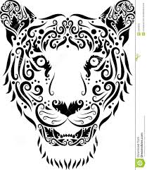 tiger ornament stock photography image 25509032