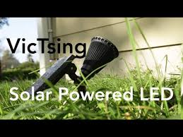 Lights For Backyard by Victsing Solar Powered Led Lights For Backyard Etc Review Youtube