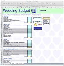wedding expenses wedding cost spreadsheet