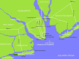 Map Of Kiawah Island Map Of Charleston Area Afputra Com