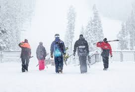 nine lake tahoe ski resorts open for thanksgiving tahoe ski world