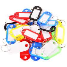 coloured key rings images Buy 30 pcs plastic key tags assorted key rings id jpg