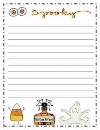 october and halloween writing prompt calendar based on common