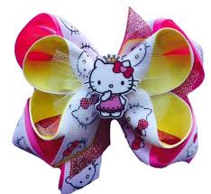 hello bows layered print bows with bottle cap