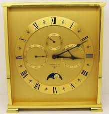 Mantle Clock Kits Vintage Tiffany U0026 Co 8 Day Triple Date Calendar Moon Phase Alarm