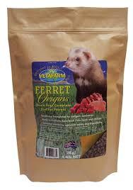 vetafarm ferret origins diet