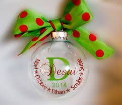 family name christmas ornament personalized pinned by pin4etsy