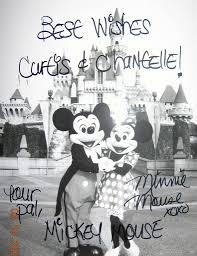 mickey wedding invitation