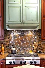 Kitchen Medallion Backsplash Colorful Backsplash Colorful Kitchens Glass Mosaic Kitchen Bright