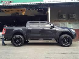 Ford Ranger Truck Rack - ford ranger wildtrak xd series xd127 bully wheels satin black