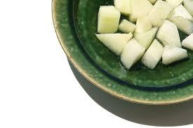 la cuisine du jardin melon galia et eau de fleur de plemoussier la cuisine du jardin
