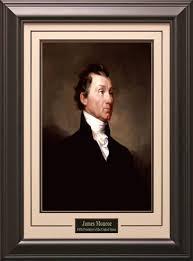 Presidents Of The United States Framed U0026 Matted James Monroe 5th President Of The United States
