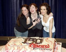alyssa milano rose mcgowan holly marie combs th episode party