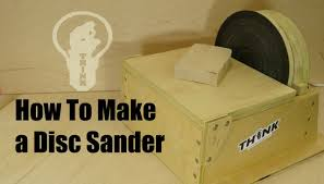 how to make a homemade disc sander youtube