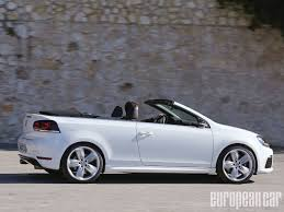 white volkswagen convertible 2014 volkswagen golf r cabriolet european car magazine