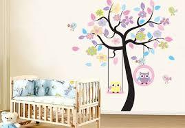dessin chambre enfant dessin mural chambre fille best livraison gratuite mignon hibou