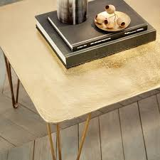 Key Town Sofa Table by Brass Hairpin Coffee Table West Elm
