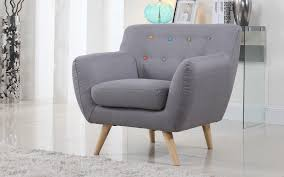 linen chair nico mid century modern linen chair sofamania