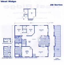 west ridge triple wide floor plans