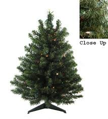 prelit artificial tabletop tree for any space