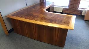 Corner Oak Desk Large Corner Desk Opus Solid Oak Furniture Uk Onsingularity