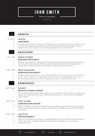 Resume Templates For Download Modern Resume Templates 22 Sleek Resume Template View Download