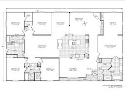 mobile homes double wide floor plan riverknoll 45765m fleetwood homes dream house pinterest
