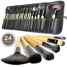 zafosstore makeup brushes kit 24 pcs in beauty