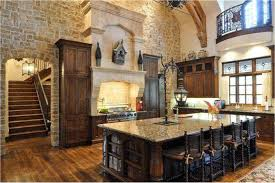 kitchen natural kitchen design with stone wall natural kitchen