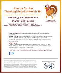 the thanksgiving sandwich 5k read all about it sandwich