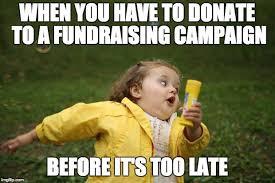 Buddy The Elf Meme - fundraising